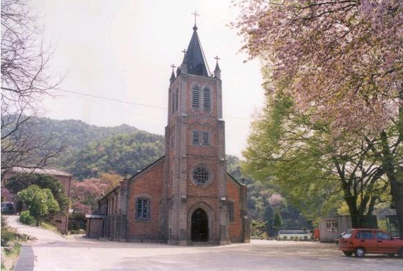 풍수원성당(유현문화관광지)